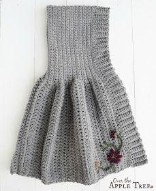 Over The Apple Tree: Girl's Crochet Cape