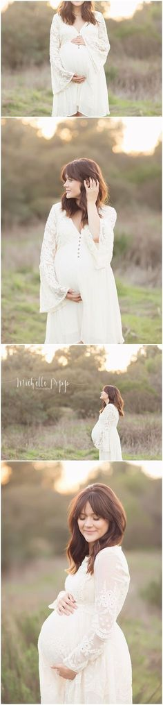 Inspiration For Pregnancy and Maternity : So dreaming and sweet. I'd like my maternity photo shoot to look a lot like