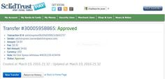 I am getting paid daily at ACX and here is proof of my latest withdrawal.  This is not a scam and I love making money online with Ad Click Xpress. Join for FREE and get 10$ + 5$ Ad and Media value packs from ACX. My #9 Withdrawal Proof of online income from AdClickXpress.