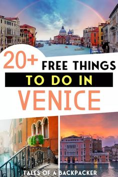 20 Free Things to do in Venice Italy - Although Venice is expensive you can still visit Venice on a budget. Here are 20 free things to do in Venice to make the most of Venice for free! Things To Do In Italy, Free Things To Do, Venice Things To Do, European Destination, European Travel, Italy Travel Tips, Travel Destinations, Budget Travel, Travel Europe