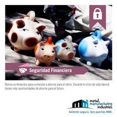 Ahorra para tu retiro. Tienes la oportunidad para ahorrar, nunca es tarde. #SeguridadFinanciera