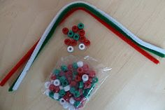 Jennifer's Little World: Christmas toddler busy bag activities - Part 1