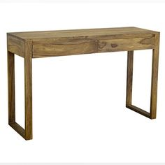 Wooden Console Table | Contemporary Timber Furniture | Loft - $680