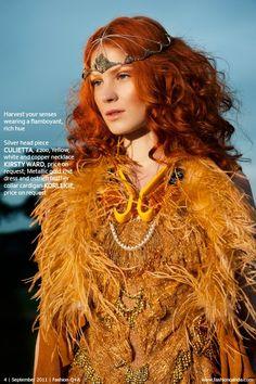 Flamboyance Korlekie gold dress stylist- Lauren Eva