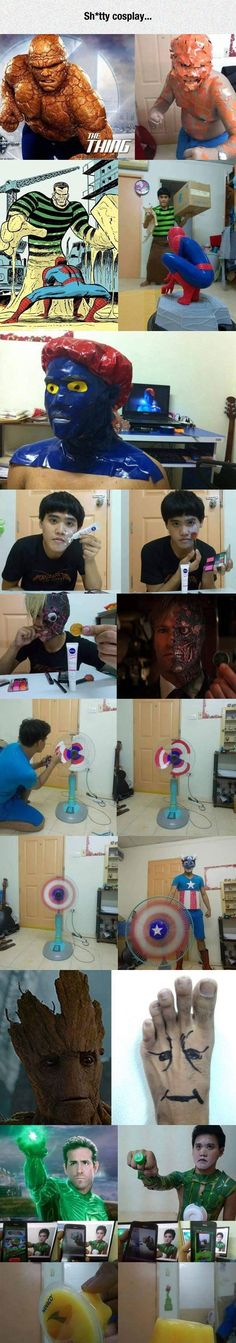 Bad Cosplay Or Extremely Awesome Cosplay Bad Cosplay, Funny Cosplay, Cheap Cosplay, Awesome Cosplay, Super Funny, Really Funny, The Funny, Memes Chistosisimos, Funny Images