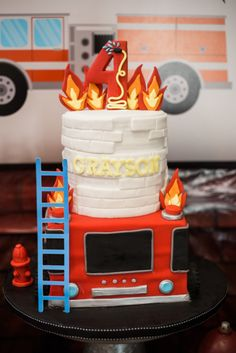 Firefighter Cake, Fi
