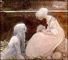 John Bauer - 'Agneta & the Sea King'