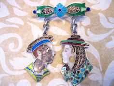 Antique Victorian Topazio Portugal Silver by charmingellie on Etsy, $56.00