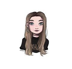 Cartoon Drawings, Cartoon Art, Cool Drawings, Cute Drawlings, Cute Art, Aesthetic Drawing, Aesthetic Art, Tumblr Art, Poses References
