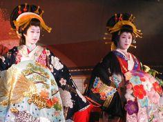 Saotome Taichi and Tachibana Daigoro - Kabuki theater performers