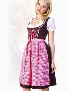 This one is totally Gretel's Colors - purple and pink! The purple (or some version of it) would still make it look like fall/Oktoberfest