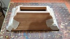 Small Hindu Temple : 8 Steps (with Pictures) - Instructables Hindu Mandir, Cut Crown Molding, Hindu Temple, Wood Glue, Baseboards, Table Legs, Raw Materials, Pictures, Raw Material