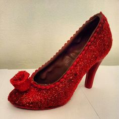 Glitter chocolate shoe #sweetcheeksuk.com