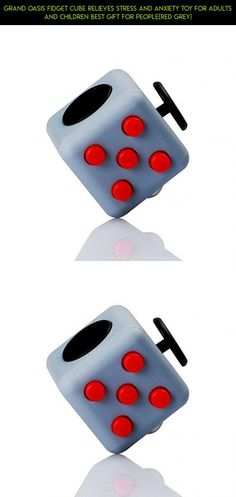 Grand Oasis Fidget Cube Relieves Stress And Anxiety Toy for Adults and Children Best Gift For People(Red Grey) #shopping #gadgets #cube #technology #drone #camera #fpv #products #grey #plans #racing #kit #tech #parts #fidget
