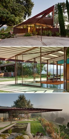 Rodney Walker designed personal residence in Ojai, CA (1959)