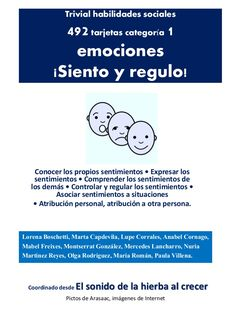 Cómo me siento, cómo se siente. Isabel Cornago. Counseling Activities, Activities For Kids, Kids Education, Special Education, Feelings And Emotions, School Psychology, Psychiatry, Aspergers, Conte