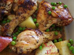 Chicken Vesuvio is the signature dish of Chicago. This version is adapted from Harry Caray's Restaurant. If you'd like, add some quartered fresh mushrooms. JH - rated ★★★★ by my family. ♥ Proud Italian Cook