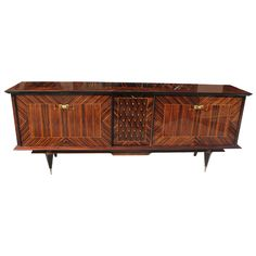1stdibs - French Art Deco Exotic Macassar Ebony Buffet explore items from 1,700  global dealers at 1stdibs.com
