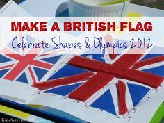 Olympics 2012: Create a British Flag