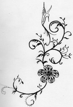 tatouage fleur hibiscus polynésien | hibiscus | pinterest | tattoo