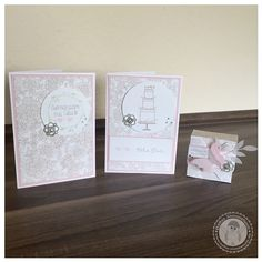 Stampin' Up! - Hochzeitsset - Bellas Stempelwelt - Zartrosa, perfekter Tag, Something Lacy