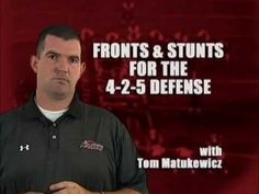 Tom Matekuwicz - Fronts and Stunts for the Defense Football Defense, Football Drills, Lineman, Stunts, Coaching, Abs, Passion, Workout, Youtube