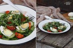 Весенний салат с пастушьей сумкой: my_happyfood