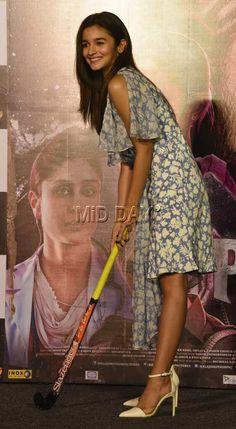 Alia Bhatt at the launch of song 'Ikk Kudi' from 'Udta Punjab' in Mumbai. #Bollywood #Fashion #Style #Beauty #Hot #Sexy #FashionofPunjab