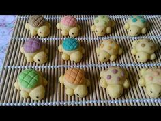 Nastar Karakter Kura Kura/ Fancy Nastar / Turtle Cookies - YouTube Gluten Free Snacks, Gluten Free Oats, Taiwan Pineapple Cake, Turtle Cookies, Quick Easy Meals, Favorite Recipes, Fancy, Dishes, Baking