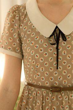 peter pan henley collar - Google Search