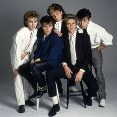 Portfolio: Duran Duran, I had this hanging on my wall!