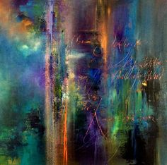 Original abstract paintings and a collection of limited edition luxurious silk scarves by Jaanika Talts. Shipping available worldwide. Action Painting, Abstract Wall Art, Abstract Landscape, Abstract Paintings, Art Paintings, Painting Techniques, Abstract Expressionism, Modern Art, Original Paintings