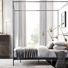 : GOOD MORNING : Did anyone else have a hard time getting out of bed this morning?... well now that we're up #letsgetit DESIGNER: RH modern collection