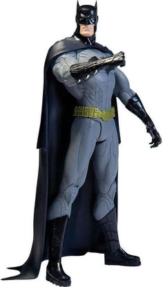 This revamped Batman from Geoff Johns and Jim Lee's Justice League is leading the way. The New 52 Batman action figure, standing 6 inches tall, is wearing a unique take on the classic costume while still putting fear into the heart of criminals everywhere Justice League New 52, Justice League Action Figures, Batman Action Figures, Dc Comics, Batman Comics, Batman Batman, Batman Stuff, Batman Arkham, Comics Girls