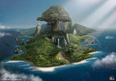 Pan's Secret Island. No Lost Boys are allowed on, only Pan & those he chooses
