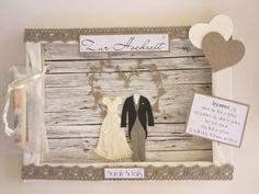 **Sie sind zu einer Hochzeit eingeladen und das Brautpaar wünscht sich Geld? Eine Karte mit Umschlag ist Ihnen zu langweilig? Sie suchen etwas außergewöhnliches, etwas, was auch später noch an...