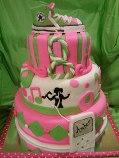 Made by LaKeisha Keck with Sweet Tooth Mother and Daughter cakes.