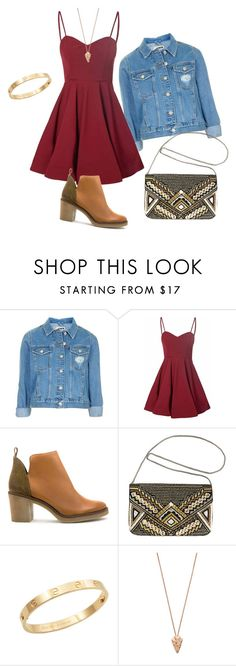 """""""3 ways to downgrade fancy dress to a daily outfit"""" by arava-wittenberg ❤ liked on Polyvore featuring Topshop, Glamorous, Miista, Avenue, Cachet and Pamela Love"""