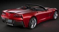 <3 <3 <3 2014 Chevrolet Corvette Stingray Convertible ; rear view ;)  <3 <3 <3