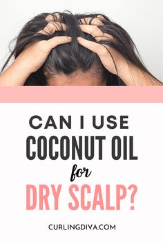 "Is coconut oil good for the scalp? Can you use coconut oil for dry scalp? Learn how to detox your scalp naturally using coconut oil, and find answers to questions like ""can you leave coconut oil in your hair for days?"". Plus tips and tricks on how to wash off coconut oil from your hair. #hairhacks #DIYhair #essentialoils #haircare"