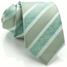 Men's Paisley Necktie