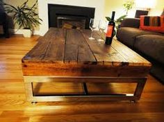 Image result for barn board coffee table