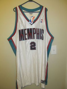 5717c62ae30 Jason Williams - Memphis Grizzlies Authentic Jersey - Rebook Adult 60 NWT   Reebok  MemphisGrizzlies