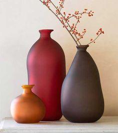 Google Image Result for http://slicesofgreen.com/wp-content/uploads/2008/12/recycled-glass-tone-bottle-vases.jpg