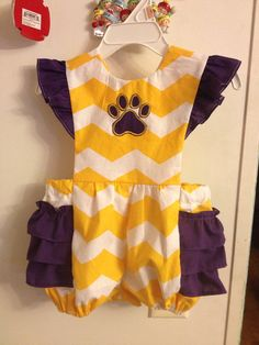 Lil girl romper by SouthernMamasCrafts on Etsy, $30.00
