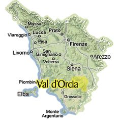 This is where Erica's story all happens! The amazing Val d'Orcia!