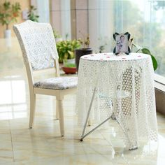 New fancy popular dining round square home party decor embroidery table cloth Water Soluble Paper, Advanced Embroidery, Embroidery Fabric, Can Design, House Party, Pattern Design, Dining Chairs, Fancy, Popular