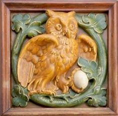 Hartford Faience Co (Hartford, CT). Heard any good jokes lately? Post them here and owl be the judge of that! www.tileheritage.org