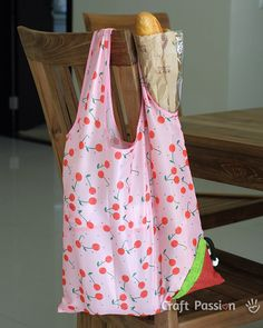 grocery bag sewing pattern