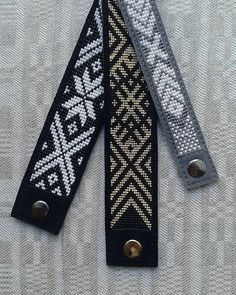 off loom beading stitches Bead Loom Bracelets, Woven Bracelets, Handmade Bracelets, Bead Loom Patterns, Jewelry Patterns, Beading Patterns, Beading Ideas, Beading Supplies, Ethno Style